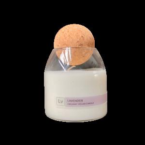 lavender candle organic salvation wellness