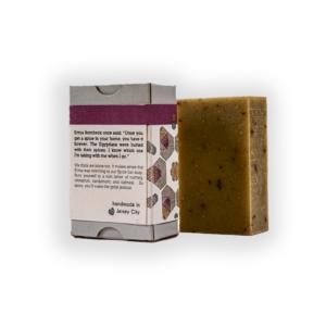 spice bar soap back label