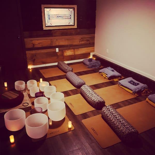 Salvation Wellness Meditation and Yoga room