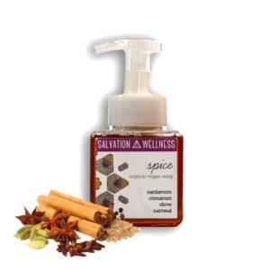 spice liquid soap salvation wellness jersey city organic vegan
